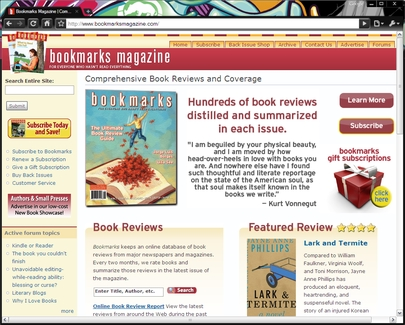 Bookmarksmagazine.com